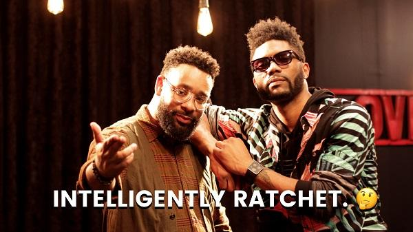 Photo of two men and the 'Intelligently Ratchet' logo