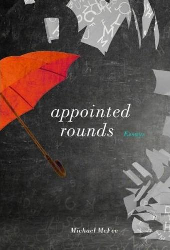 photo of book cover for 'appointed rounds' picturing an umbrella
