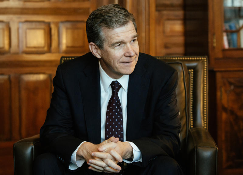 File photo of North Carolina Gov. Roy Cooper. The governor addressed the Emerging Issues Forum on Monday, Feb. 5, 2018 at North Carolina State University.