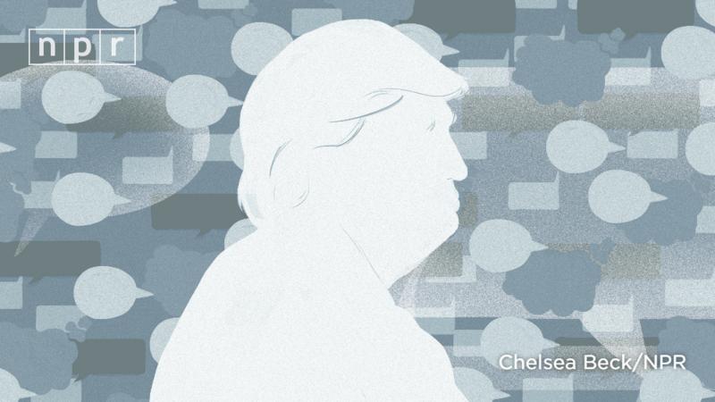 illustration of President Trump