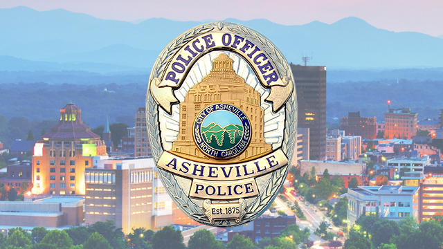 The Asheville Police Department badge.
