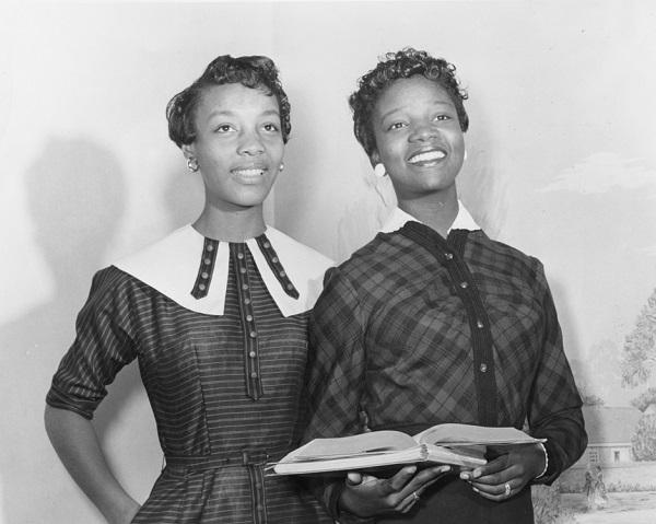 photo of JoAnne Smart Drane and Bettye Ann Davis Tillman