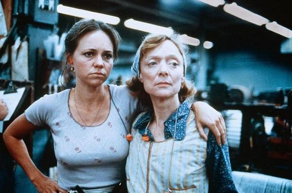 photo of sally field and barbara baxley in 'norma rae'