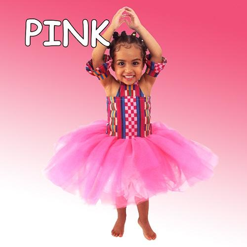 photo of a young girl in a pink tutu