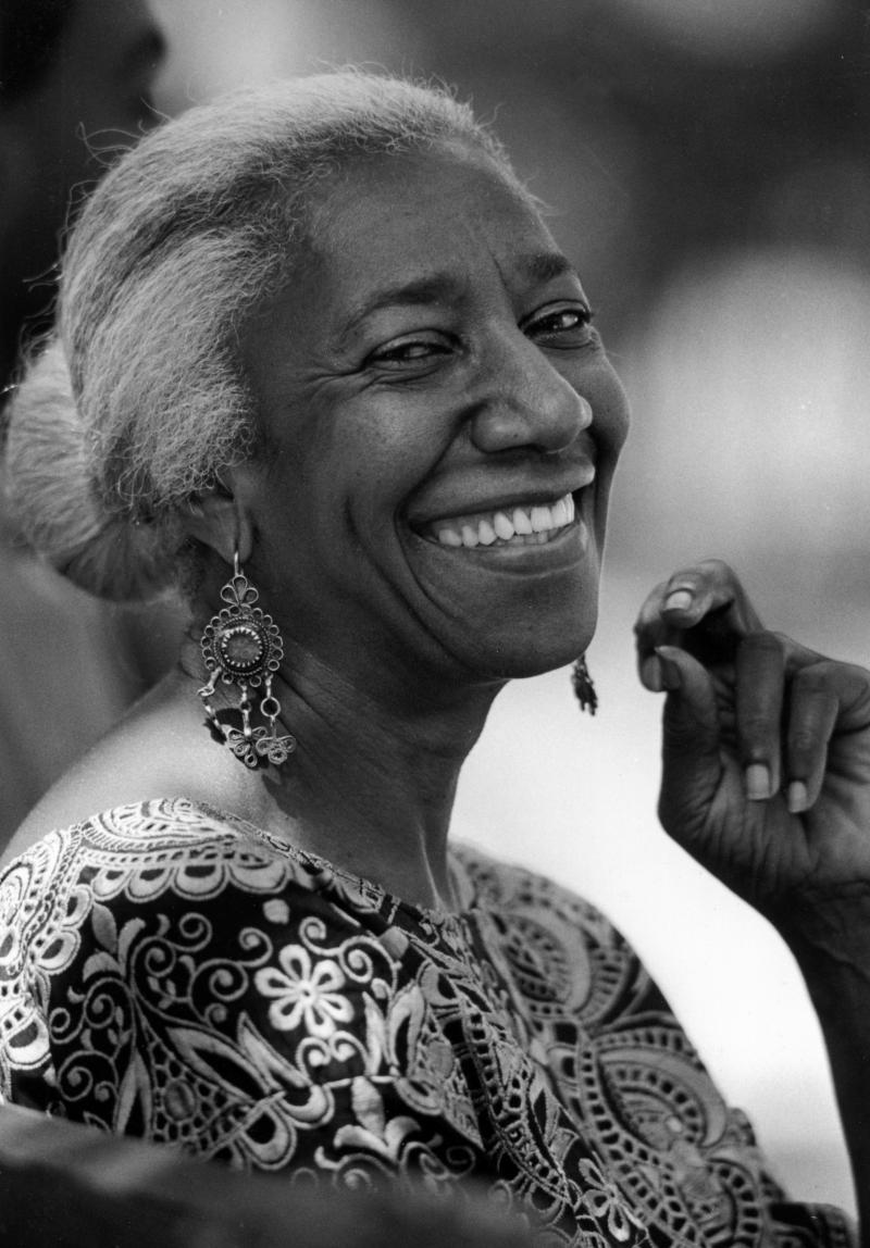 Photo of Edna Lewis smiling