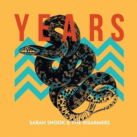 photo of album cover picturing a snake and geometric design
