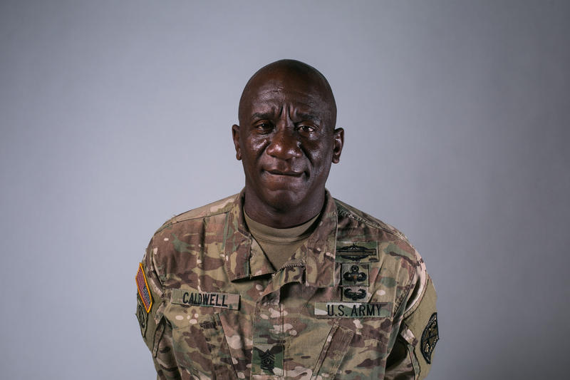 Portrait of Sergeant Major LaMonta Caldwell