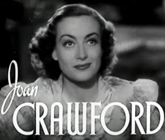 a picture of young Joan Crawford