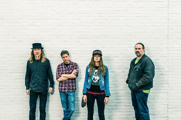 photo of sarah shook and her band