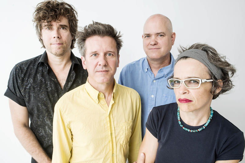 A photo of the band Superchunk.