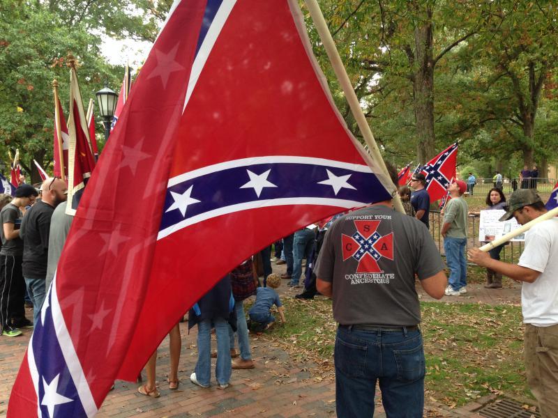 Confederate Flag, Orange County, Silent Sam