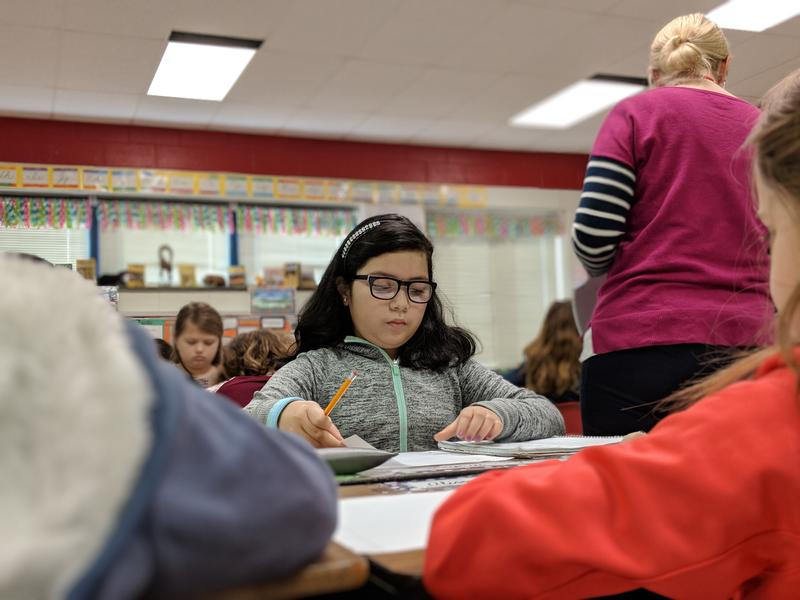 Lucero is finishing up the third grade at her school in Alamance County. It's a high-pressure year -- not just for her, but for her mom too.