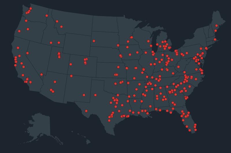 School shootings since 2013