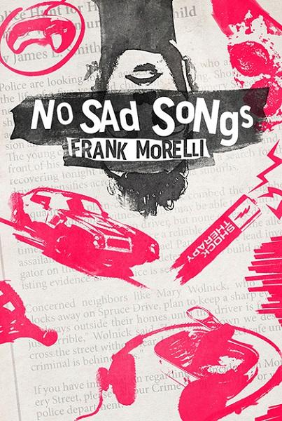 book cover for 'no sad songs'