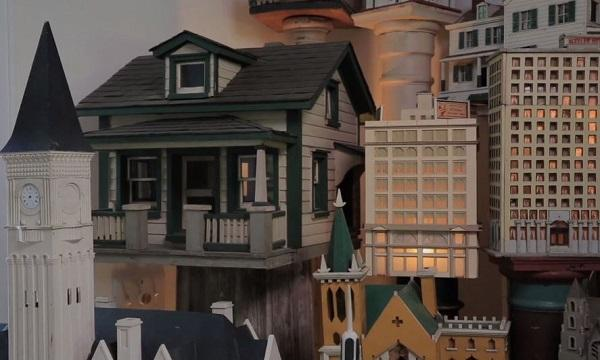 photo of miniature model houses and commercial buildings