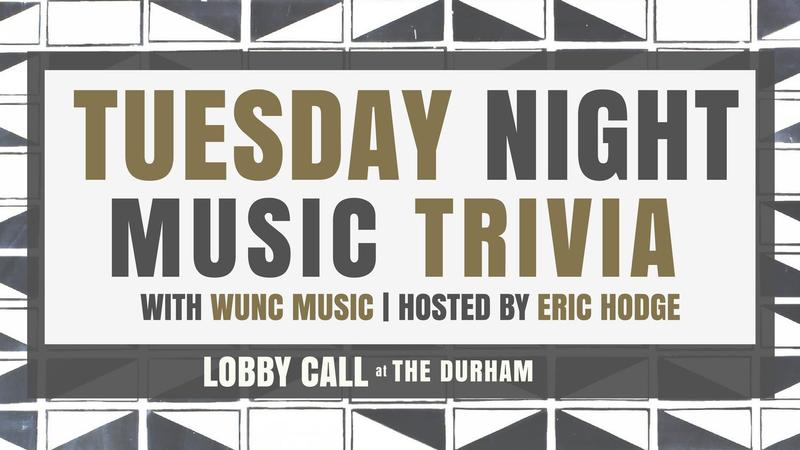 WUNC Music and The Durham present Music Trivia
