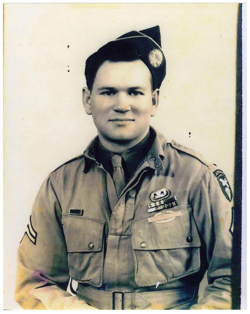 "Portrait of Kenneth ""Rock"" Merritt taken during World War II"
