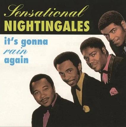 album cover for the sensational nightingales