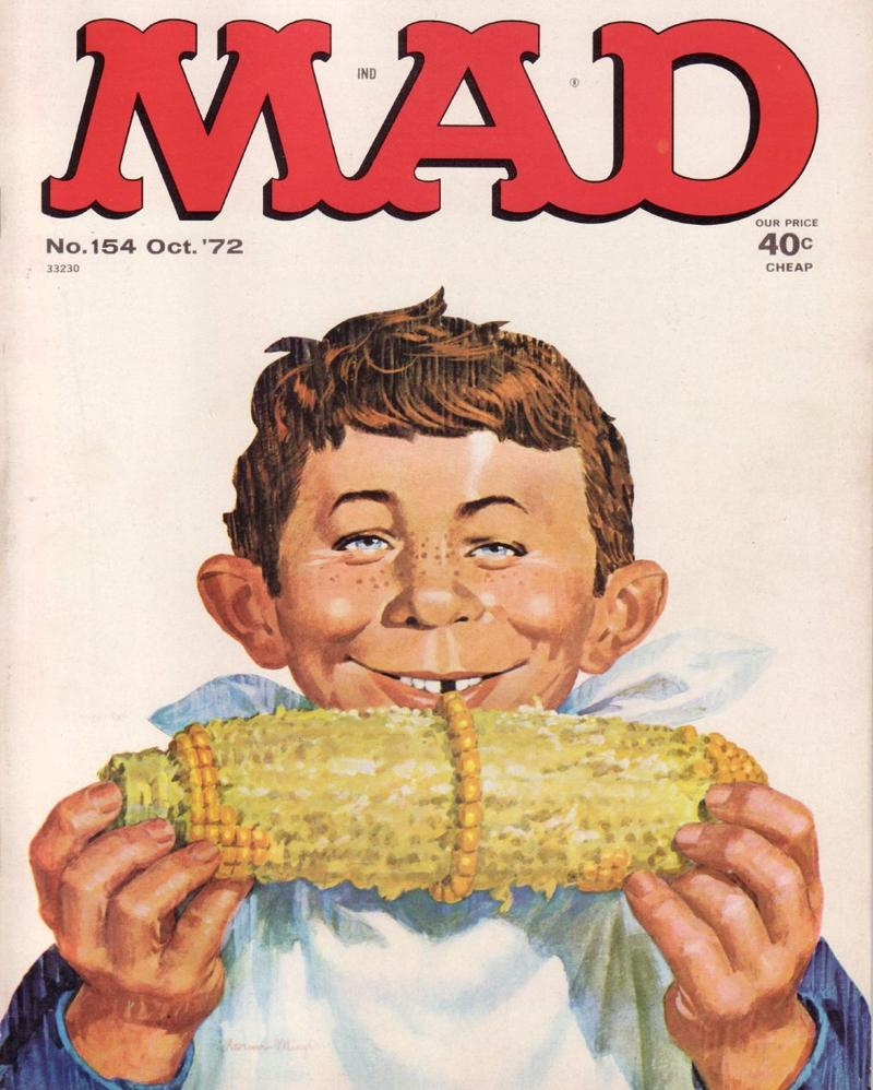 MAD Magazine Cover from October, 1972