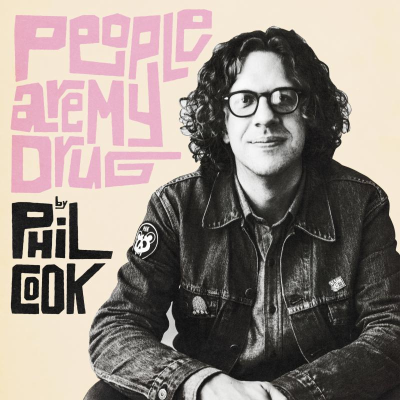 "Phil Cook's album cover for ""People Are My Drug."""