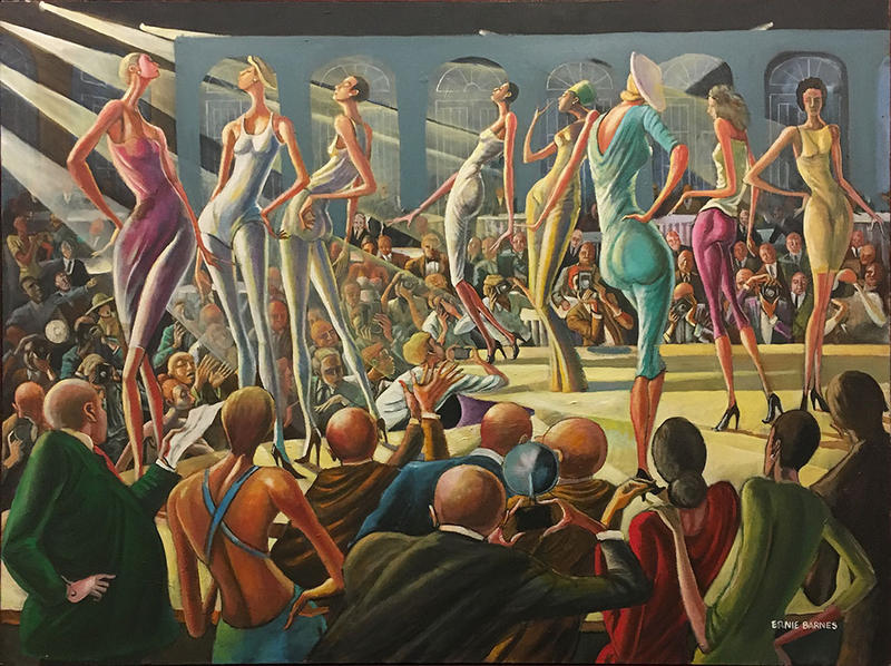 'Fashion Show' by Ernie Barnes