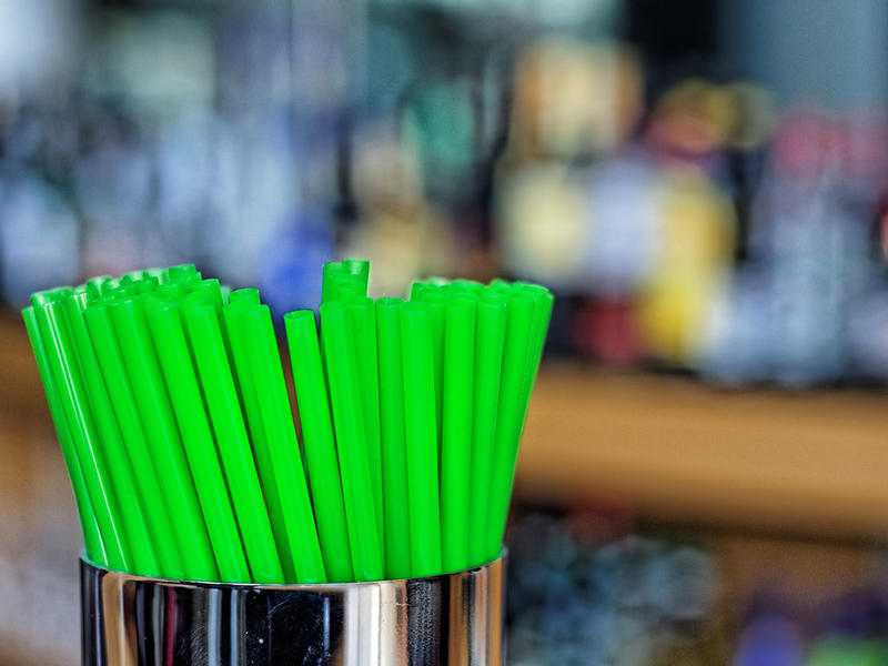 File photo of plastic straws.