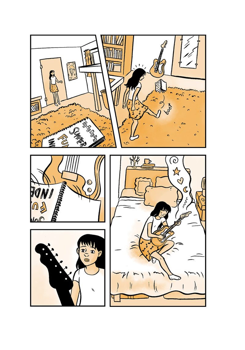 'All Summer Long,' the newest offering from Asheville-based graphic novelist Hope Larson, chronicles the life of a teenager navigating adolescence in Los Angeles.