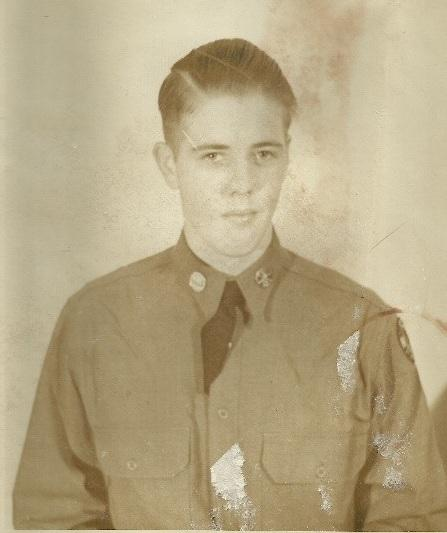 A portrait of Bill Reid, age 17.