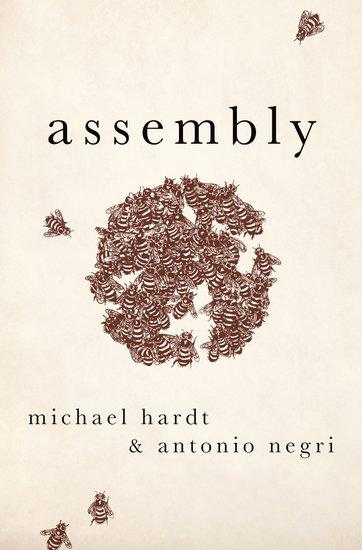 "Cover image of ""Assembly"" by Michael Hardt and Antonio Negri."