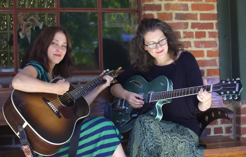 Sally Jaye and Sarah Roberts are Ladies Gun Club, an eclectic Americana duo that graces psychedelic rock just as effortlessly as it hits soulful notes of Southern folk.
