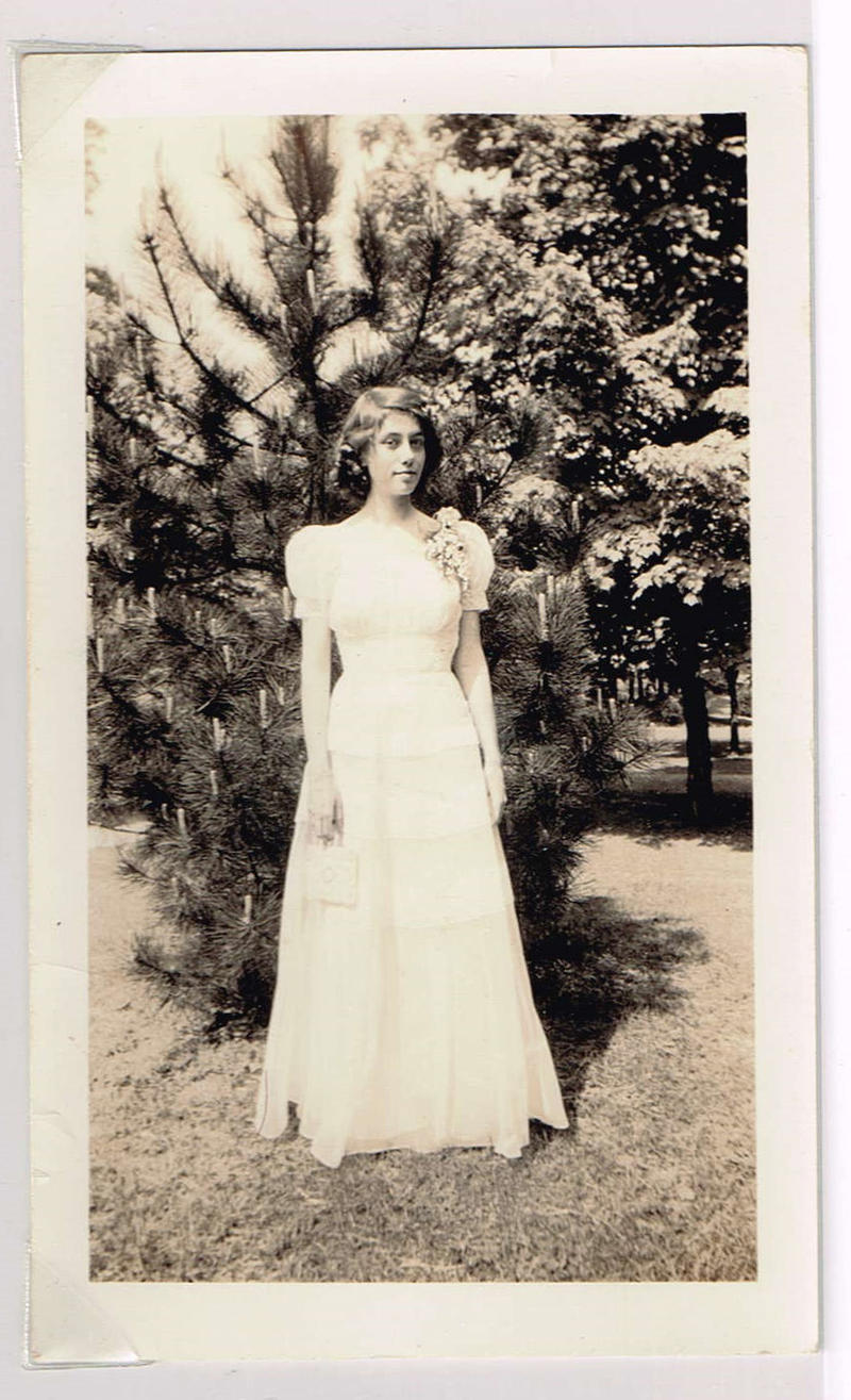Sarah's grandmother, Pattie Anne Watkins, at age 16 in 1941