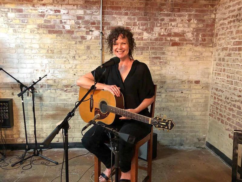 Molly McGinn organizes the Represent NC night at Joymongers Brewing in Greensboro.
