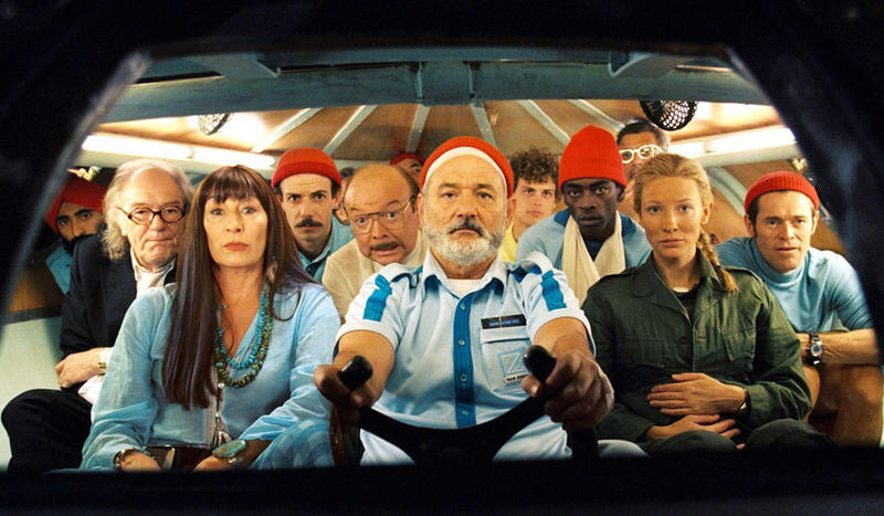In the Wes Anderson film 'The Life Aquatic With Steve Zissou' red-capped underwater-adventurers hunt for the elusive jaguar shark.