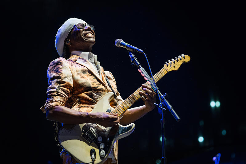 Nile Rogers & Chic performing at Hopscotch on Saturday September 8, 2018