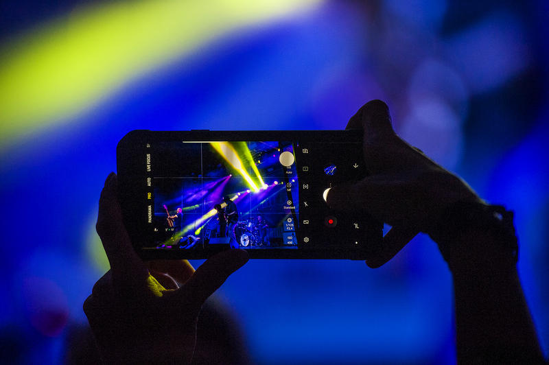 We bet you took some great shots, too, at Hopscotch.  (Pictured in camera, MC50)