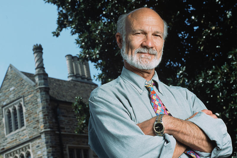a photo of theologian Stanley Hauerwas