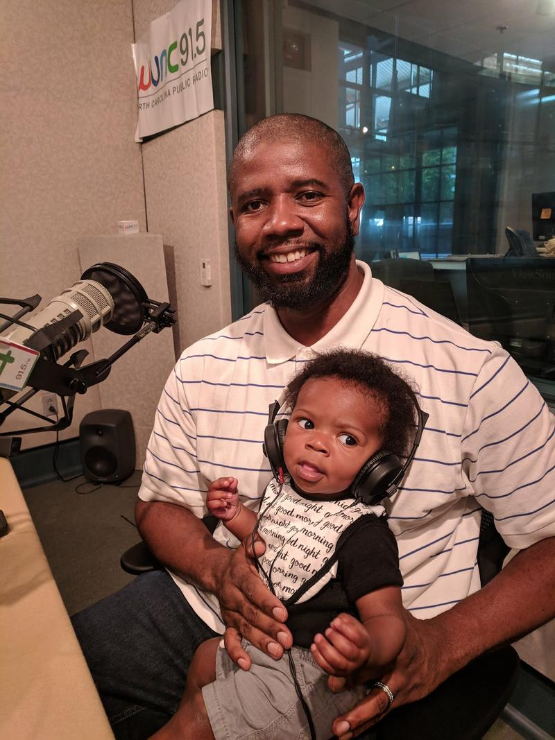 Dion 'Showtime' Chavis, a popular late-night disc jockey, has now become a key figure in the education and assistance of North Carolina's fathers.