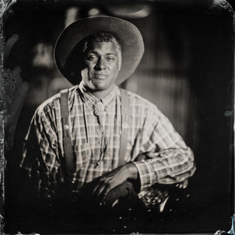 "Dom Flemons' ""Black Cowboys"""