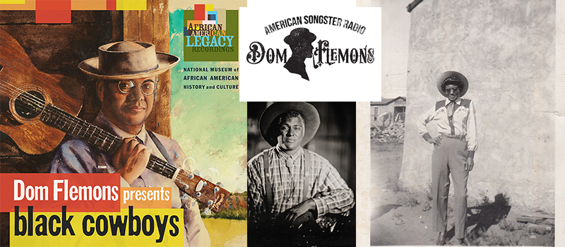 Dom Flemons Podcast Season 2 Header