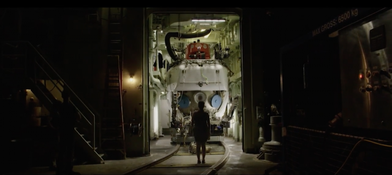 Astronomer Rachel Smith eyes the Alvin submersible in the new documentary 'The Most Unknown' from Motherboard.