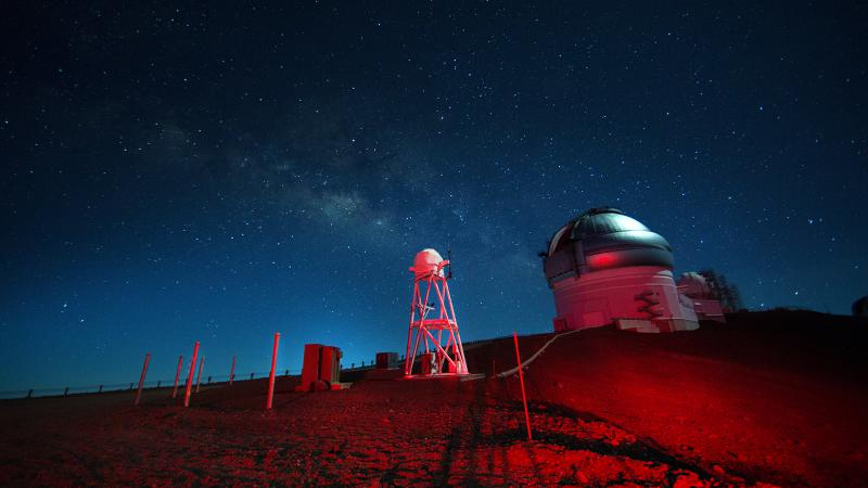 The Keck Observatory at Mauna Kea, Hawaii as featured in the new documentary 'The Most Unknown' is a premier site for celestial exploration.