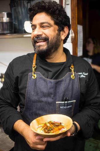 Photo of Chef Meherwan Irani