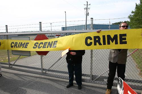 Photo of North Carolina Stop Torture Now Crime Scene