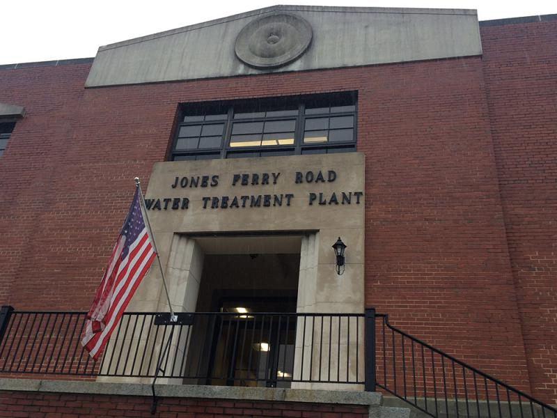 OWASA's Jones Ferry Road water treatment plant, in Carrboro, N.C.