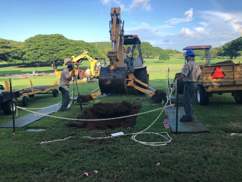 Once-nameless troops are exumed at National Memorial Cemetery of the Pacific in Honolulu.