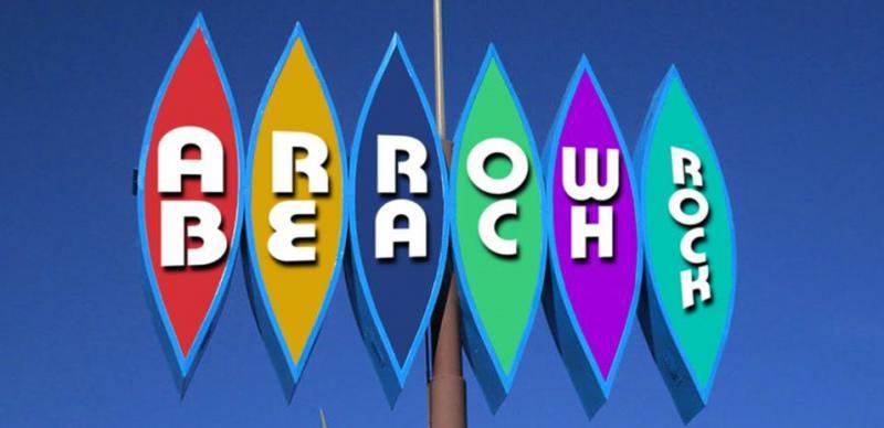 Art created for the band Arrow Beach.