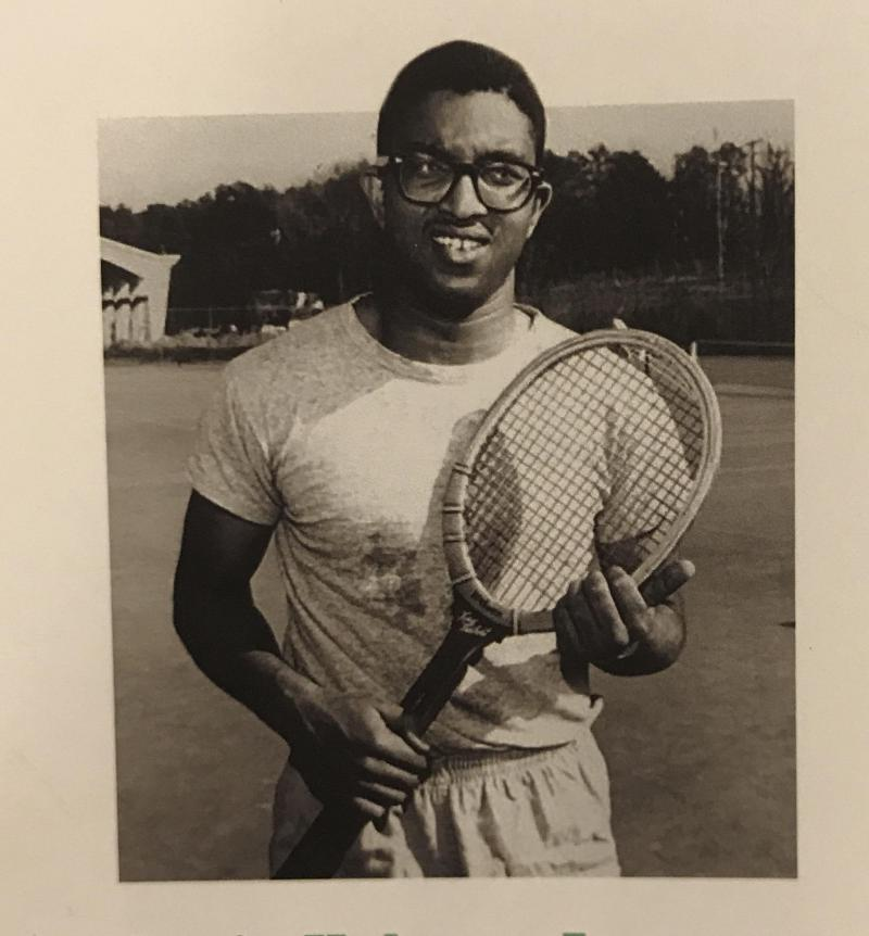 Photo of Irwin Holmes, Jr. who broke the color barrier at NC State.