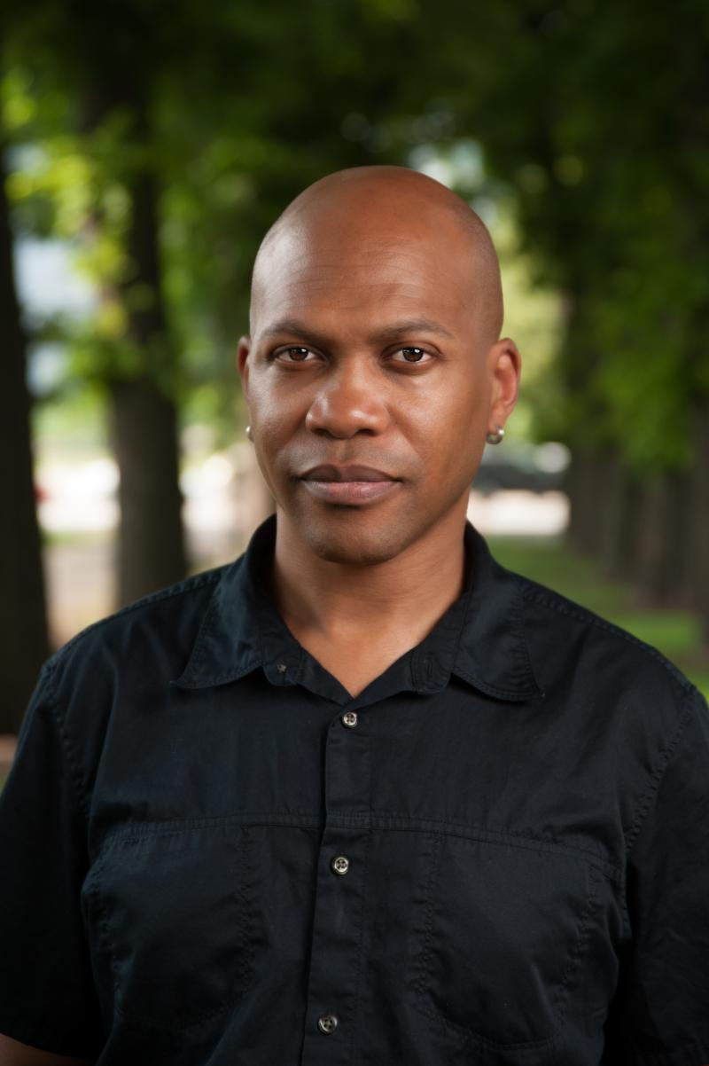 Professor and Performer E. Patrick Johnson.