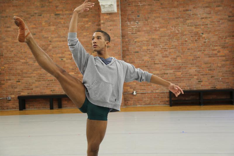 Harper Watters (The Houston Ballet) dancing