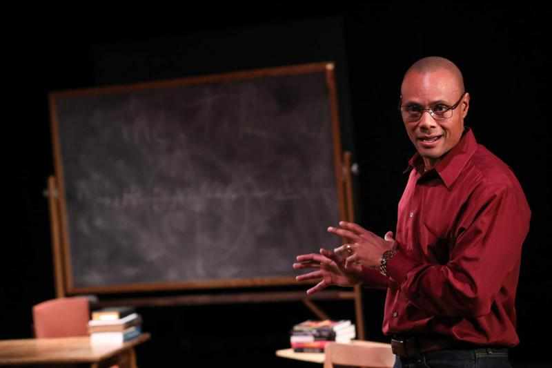 Sonny Kelly, playwright and star of 'The Talk' on stage this month in Durham and Chapel Hill.